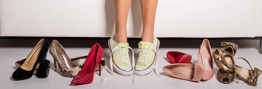 Chaussures femmes pieds sensibles